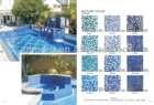 Glass mosaic swimming pool tiles/ cheap swimming pool tile