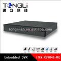 4ch 960h/d1 cctv dvr dvr h 264 de compresión de vídeo