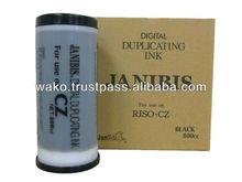 Risograph digital duplicator Riso CZ ink,RS digital duplicator ink CZ180