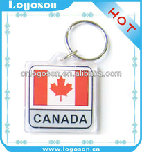 canada souvenir promotional item key rings fobs