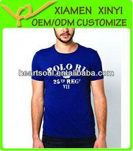 Fashion Brand Cotton Polyester T Shirt Mens