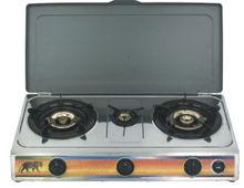 OEM, Effective Gas Cooking Range, 3 burner Gas Cooktop, double stove cooktops