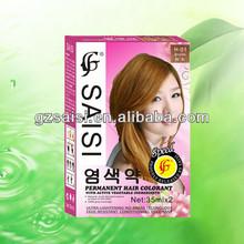 SAISI selective professional hair colors ,hair coloring manufacture