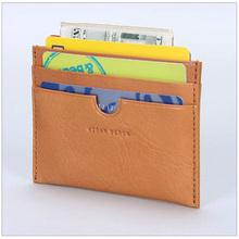 Lastest Design Handmade Leather Wallet Business Cardholder