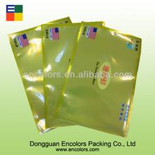 FDA grade plastic packaging bags for frozen chicken/frozen meat bag/vacuum frozen chicken bag