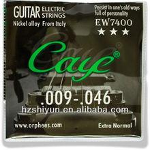 Níquel cuerdas de guitarra eléctrica, Rosetones de guitarra, Guitarra de amplificador