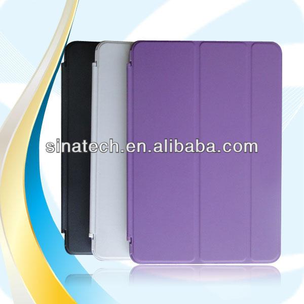 Slim Multi position viewing 2014 new design premium for ipad mini case,leather case for iPad mini 2