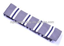 refreshing color stripe knitted silk necktie