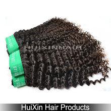 Good Quality Keratin Thick Human Hair Extensions Eurasian Kinky Curly Hair