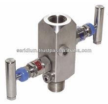 SS316 Multiport Gauge Valves, Instrument Manifolds, Needle Valves