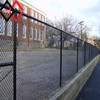 5 high black vinyl coated chain link fence supplier
