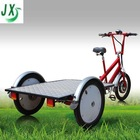 flatbed three wheel bike for cargo