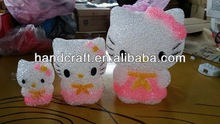 cute cartoon Colour Changing Light Hello Kitty LED Night Light for party
