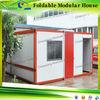 Cheap Prefab sandwich panpel Folding Container house