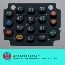 Verifone Nurit 8020 silicone button