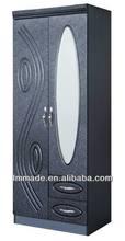 laminate mdf modular cabinet wardrobe(200066-4B)