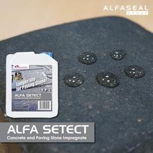 ALFA SETECT - impregnation / sealer for paths, driveways, paving stone
