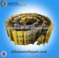 excavadora del grupo caterpillar zapato corriente excavadora asamblea articulación de la oruga