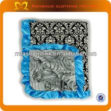 High Quality Handmade Baby Blanket Pattern 70*90cm Damask Baby Fleece Blanket