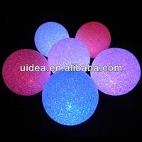 8CM Color Changing LED Snow ball / LED Crystal Night Light