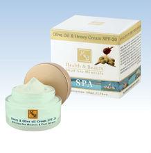 H&B - Health and beauty Dead sea minerals - Olive Oil & Honey cream SPF20