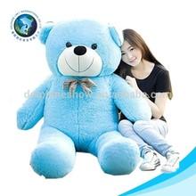 Latest design and good sale cute stuffed soft 300cm giant blue nose plush teddy bear toy