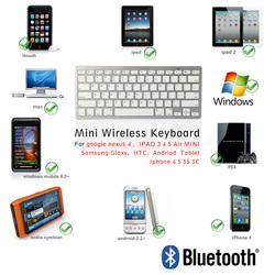 Bluetooth keyboard For iPhone 6 Plus , Wholesale mini bluetooth keyboard