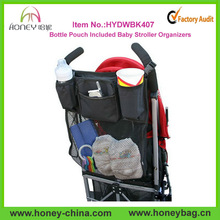 Stylish Functional Eco-friendly Bottle Pouch Included Baby Stroller Organizers