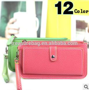 QB818 woman fashion cheap phone card smart wallet
