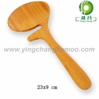 Natural bamboo spoon cosmetic scoop