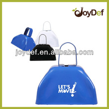 Metal cow bell blue 3inch cowbell