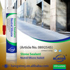 Non-Pollution Weatherproofing 100% Silicone Based Marble And Granite Glue