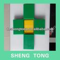 Verde / amarillo alta densidad de polipropileno / hdpe lámina de plástico