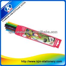 "7"" Wooden fluorescent colored pencil"