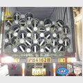 10KV línea de transmisión de acero polos