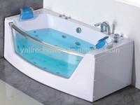 abs tempered glass compact hidro banheira