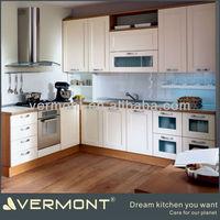 vinyl wrapped kitchen cabinet
