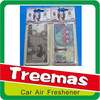 Hanging paper car spray air fresheners J086