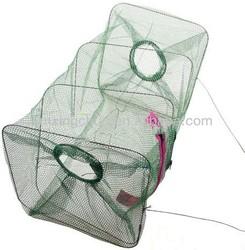 Crab Fish,Crawdad Shrimp Minnow Fishing Bait Trap Cast Dip Net Cage
