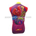 Red Sleeveless Cycling Wear jerseys