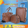 Wheels trolley hot sales promotional luggage travel set