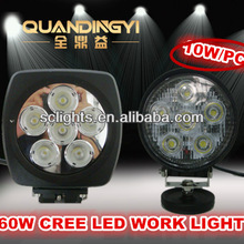Auto Accessorics LED lighting CREE LED Work light spot flood lamp for jeep,truckboat,trailer