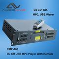 Fabricante profesional del oem cmp-100 dj cd usb reproductor mp3 con mando a distancia