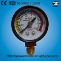 ( de y- 40) 40mm tubo de bourdon inferior de plástico conector de medidor de nivel