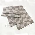 муёчин связанные полосатый шарф шаблону