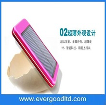 Wholesale alibab 5000 mAh pocket power bank solar for iphone charger solar mobile charger