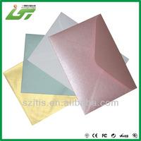 Luxury printing paper pearl envelope printed