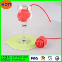 Sedex factory wholesale tea strainer,silicone tea infuser,silicone tea strainer