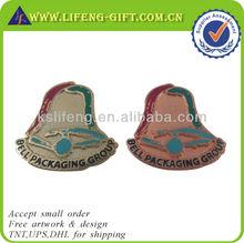 Bell Packaging Group Custom Plated Badges