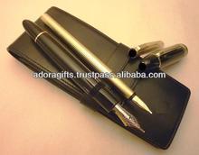 ADALPC - 0032 best leather special pen cases supplier / promotional leather pen cases / pen pouch leather